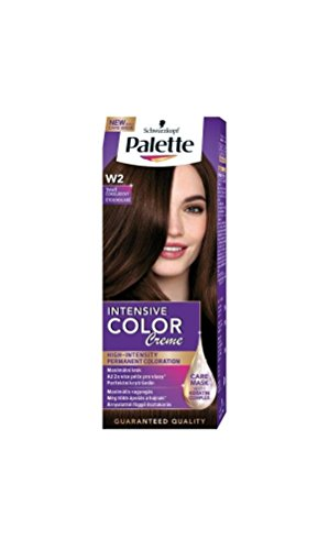 Palette Intensive Color Creme W2 Dark Chocolate Permanent Hair (Hair Color Palette)