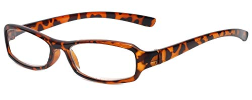 Calabria 8034 Designer Reading Glasses in Tortoise +0.75