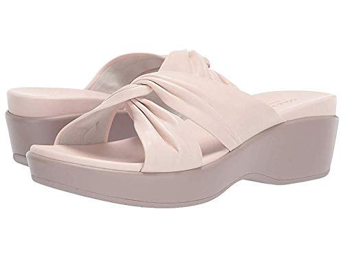 The Womens A Cole Haan Slide - Cole Haan Women's Aubree Grand Knotted Slide Sandal Morganite Nappa/Etherea 11 B US