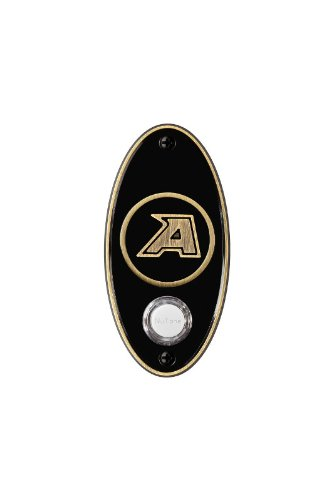 NuTone CP2WPAB College Pride U.S. Military Academy Door Chime Pushbutton, Antique Brass