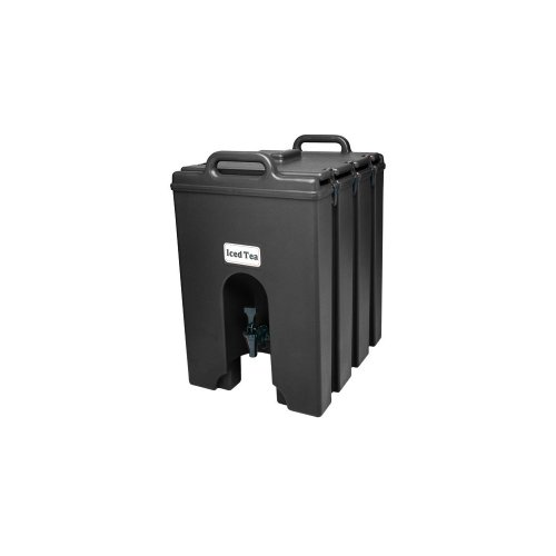 Cambro 1000LCD110 Black Camtainer 11.75 Gal. Insulated Beverage (Cambro 10 Gallon Camtainer)