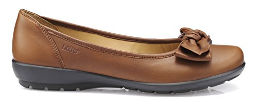 Jewel Brown Flats EXF Dark Tan Women's Hotter Ballet C85nq