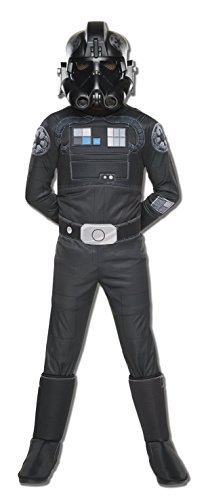 [Rubie's Costume Star Wars Rebels Tie Fighter Pilot Deluxe Child Costume, Small] (Girls Pilot Costumes)