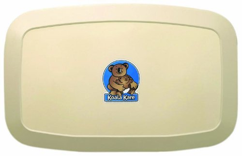 Koala Kare KB200-00 Horizontal Wall Mounted Baby Changing Station, Cream