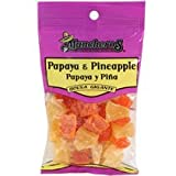 Muncheros Dried Pineapple & Papaya, 4.5-oz. Bags
