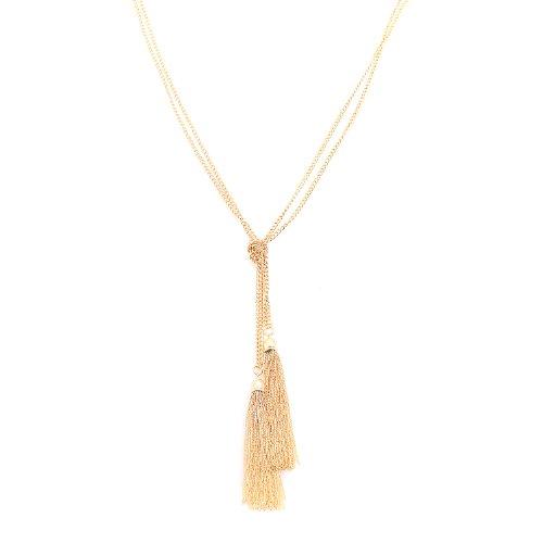 Spinningdaisy Plated Fashion Statement Necklace