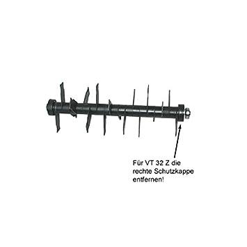 ATIKA Ersatzteil L/üfterwalze komplett f/ür Vertikutierer VT 40 Z