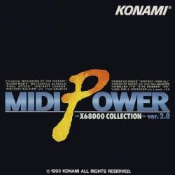 (Midi Power X68000 Collection ver.2.0 Soundtrack Compilation CD)