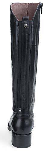 100 Bottes Noir NEROGIARDINI Logo ET Nero A807030 Cuir en 7030 nrgnc6W