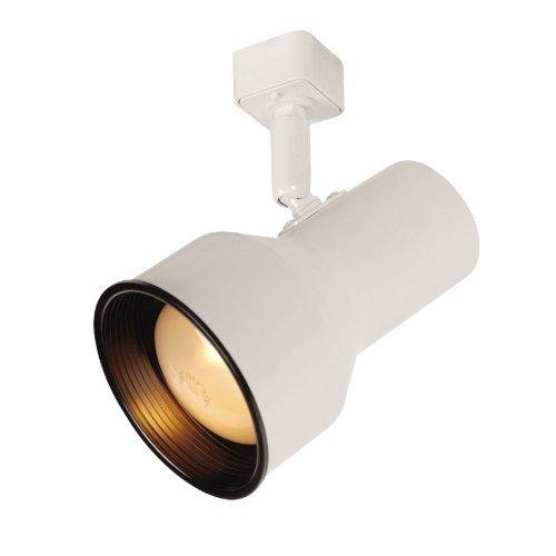 Portfolio 1-Light White Casual Track Lighting Head 13924-001