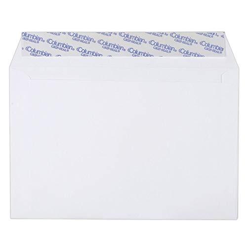 Envelopes Columbian Grip Seal Invitation - Columbian CO330 6x9-Inch Booklet Grip-Seal White Envelopes, 250 Count