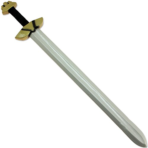 Larp Costumes And Weapons (Odin's Warrior LARP Viking Raider Type XI Foam Longsword Latex Medieval Prop)