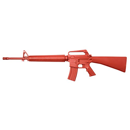 Asp Red Training Knife - ASP 07422 Government M16 (with 30 Round Magazine), Red Gun