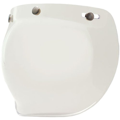 Bell Bubble Shield Harley Cruiser Motorcycle Helmet Accessories - Clear - for Custom 500/R/T/Shorty