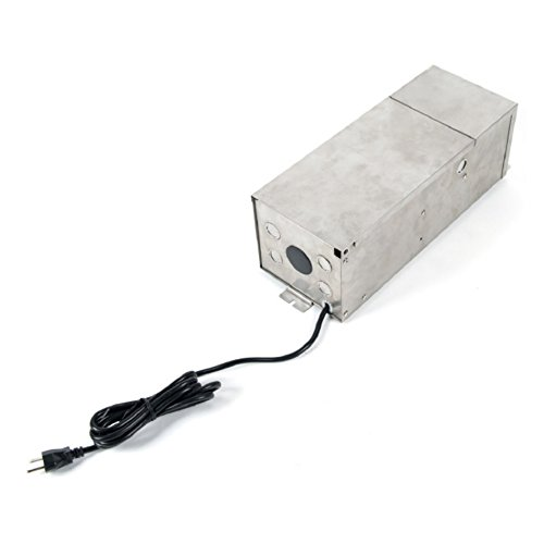 WAC Lighting 9300-TRN-SS WAC Transformer 300W Magnetic Landscape Lighting Power Supply in Stainless Steel, Max