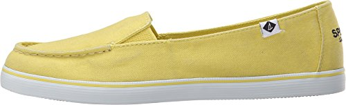Sperry Top-Sider Women's Zuma Washed YLW Fashion Sneaker, Yellow, 9.5 M US