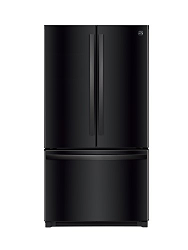 Kenmore 4673029 26.1 cu. ft. Non-Dispense French Door Refrigerator in Black, includes delivery and hookup (Available in select cities only)