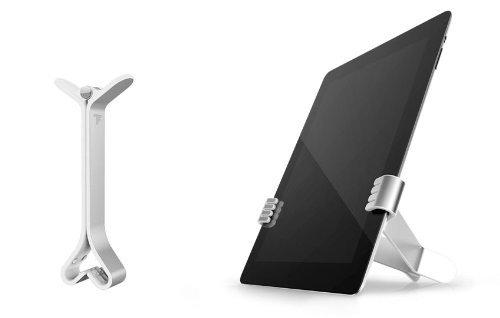 Felix TwoHands iPad/Tablet/eReader Travel Stand, White