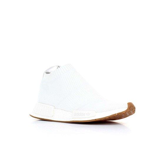 adidas Originals NMD_CS1 PK, footwear white-footwear white-gum blanco