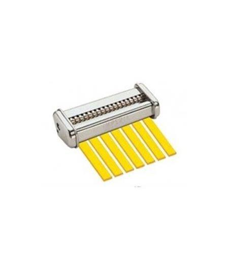 CucinaPro 150-02 Imperia Pasta Maker Attachment- Stainless Steel Trenette Machine Attachment