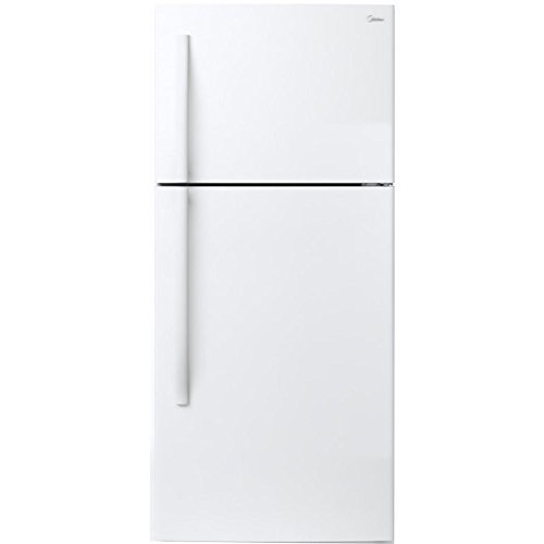 18.0-Cu. Ft. Top-Mount Refrigerator in White