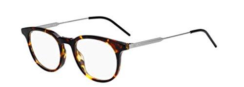 (New Christian Dior Homme Black Tie 229 86 Dark Havana Eye Wear Eye)