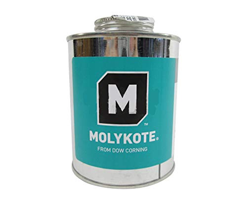 Image of Dow Corning Molykote 1000 High Temperature Anti-Seize Paste - 454 Gram Brush-Top