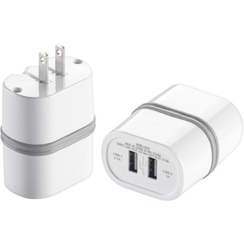 Conair LS2AD DUAL WALL USB CHARGER LECTRONIC SMART