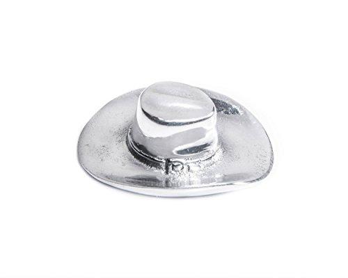 Arthur Court Designs Aluminum Cowboy Hat Bottle Opener 3 by 2.25 inches (Buckle Sandcast)
