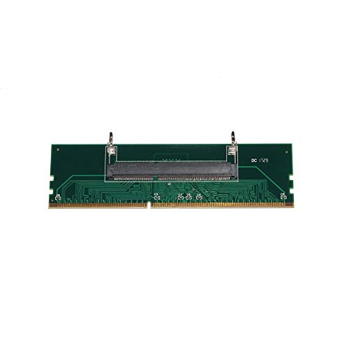 Fasmodel - DDR3 Laptop Durable Convenient SO-DIMM Memory to Desktop DIMM Connector Adapter RAM