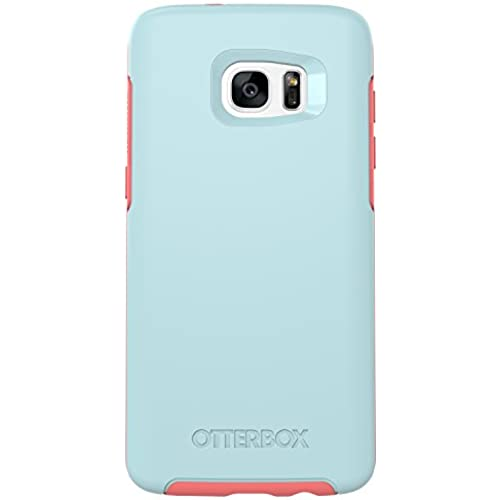 OtterBox SYMMETRY SERIES Case for Samsung Galaxy S7 Edge - Frustration Free Packaging - BOARDWALK (BAHAMA BLUE/CANDY PINK) Sales