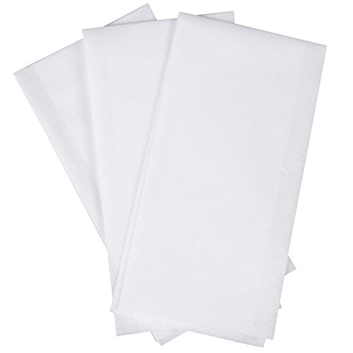 "Hoffmaster 856499 Linen-Like Disposable Guest Towel, 1/6 Fold, Unfolded size 12"" Width x 17"" Length, Folded size 4.5"" X 8.5"" , White (5 Packs of 100) from Hoffmaster"