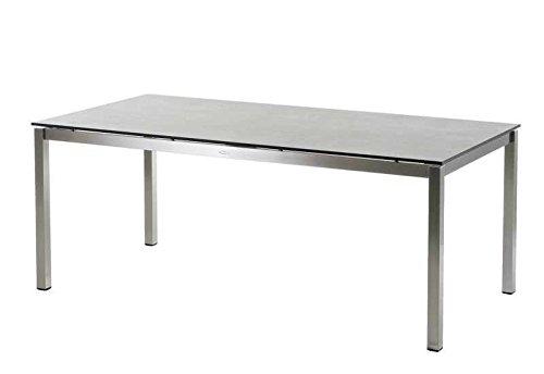 Diamond Garden Belmont Tischplatte f. Tischgestell San Marino Schalbrett Beton