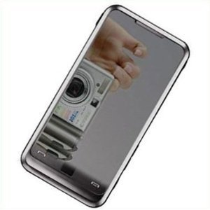 Custom Reusable Mirror LCD Screen Protector with Cleaning Cloth for Samsung Onmia i910, - I900 Lcd