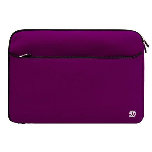 (14 Blue) sony vaio cases Laptop Neoprene Case Bag Sleeve for Sony Vaio 12 Inch Sony Vaio 13 Inches 14.1 Inch 15 Inches (14, Extra Pocket Blue) + SumacLife TM Wisdom Courage Wristband