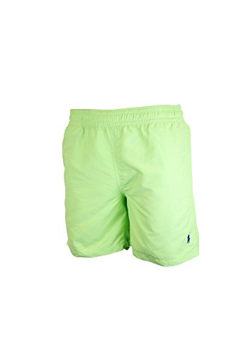 Polo Ralph Lauren Mens Swim Shorts (Nantucket Lime, Small)
