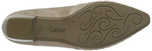 Gabor Women's Fashion Closed-Toe Pumps, Beige Beige