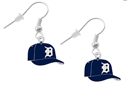 Final Touch Gifts Detroit Tigers Cap Earrings Pierced
