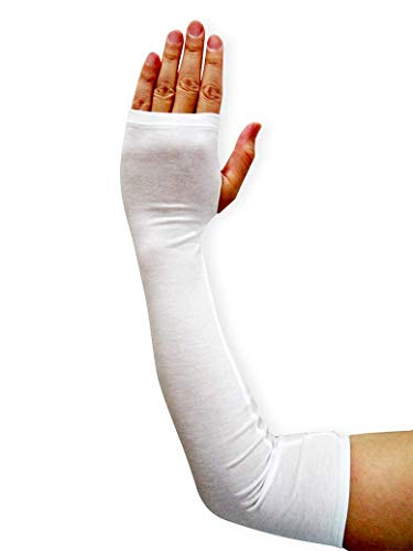 Edenswear Zinc-Infused Sleeves Bandage for Adults with Eczema - Wet Wrap Therapy (XL)