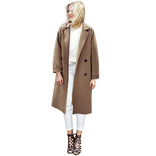 Letdown Women Winter Warm Casual Solid Button Long