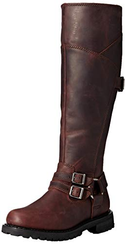 Harley-Davidson Women's Lomita Motorcycle Boot Wine 8 M US (Best Womens Motorcycle Boots)