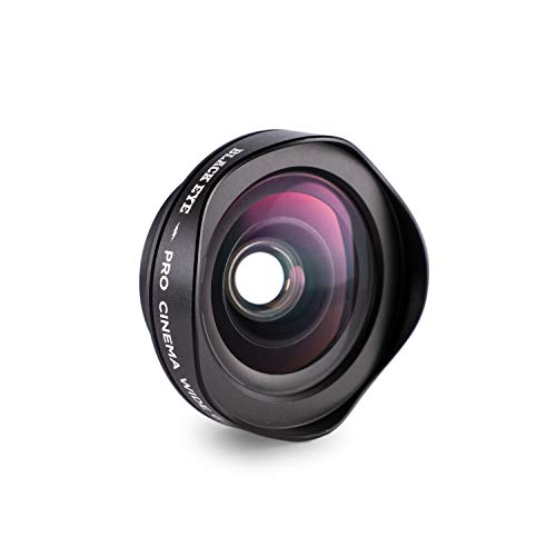 Phone Lenses by Black Eye || Pro Cinema Wide G4 Clip-on Lens Compatible with iPhone, iPad, Samsung Galaxy, and All Camera Phone Models