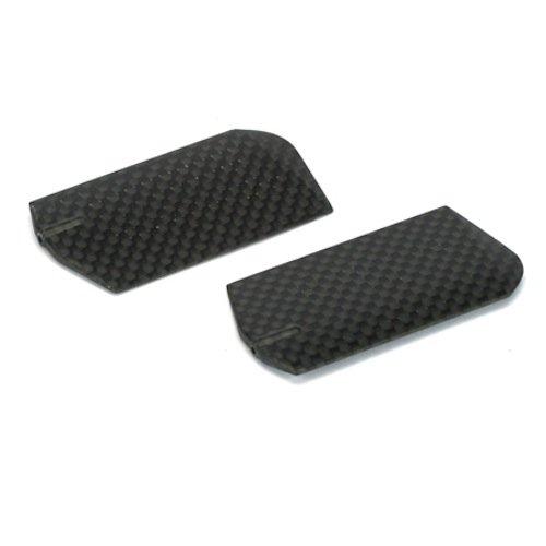 3d Paddles (E-Flite 3D Flybar Paddle Set w/Weights, Carbon Fiber: Blade 400)