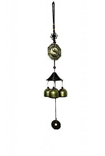 Feng Shui Chinese Pa Gua Mirror Wind Chime for Protections