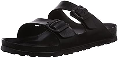 Birkenstock Arizona, Men's Fashion Sandals, Black (Black 129421), 7.5 UK (41 EU)