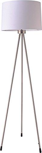 SH Lighting 31181WH Tripod Floor Lamp, Large, White
