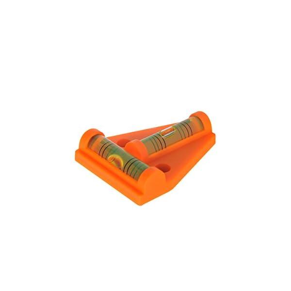 31FSEFhRHrL ProPlus 341215 Magnetische Wasserwaage für Wohnwagen, Wohnmobil und Caravan