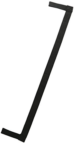 Yoga Pilates Mat Sling Strap Black by Bags for Less