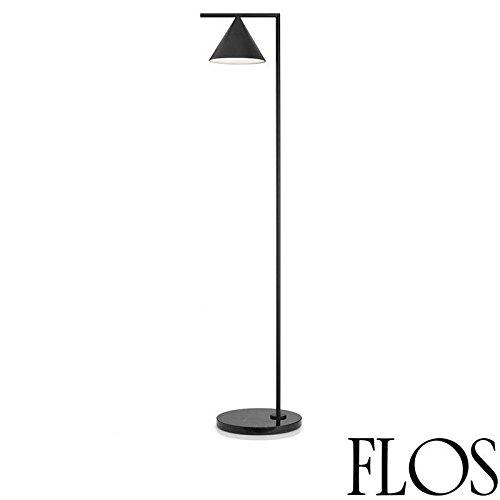 low priced 08b21 719d8 Flos Captain Flint LED Floor Lamp Anthracite/Black F1530030 ...