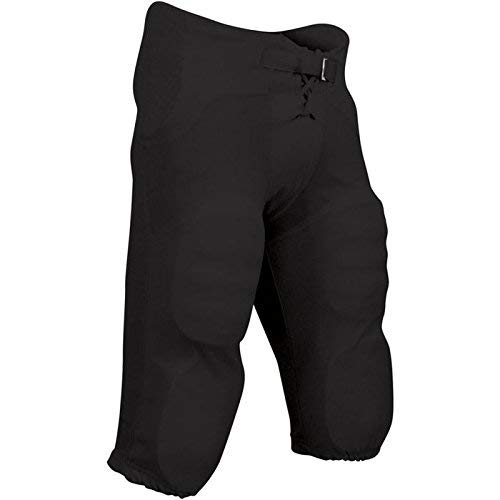 (CHAMPRO Integrated Pant with Built-in Pads; 2XS; Black; Youth)